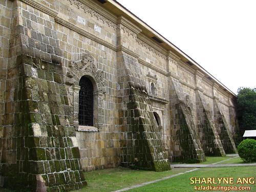 The Walls of Miag-ao Church in Iloilo