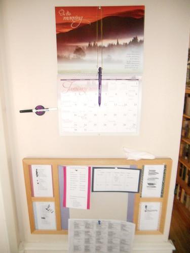 Kids Command Center Bulletin Board