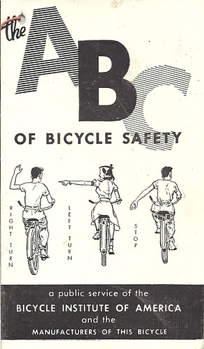 The ABC of Bicycle Safety - Cover by Zaz Databaz