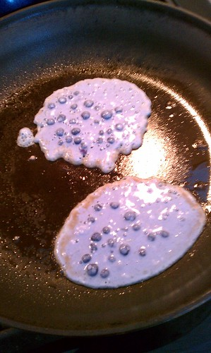 unfortunately blue pancakes