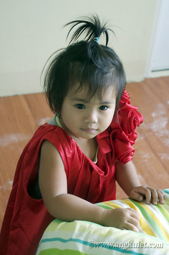 The Red Dress (on Lia)
