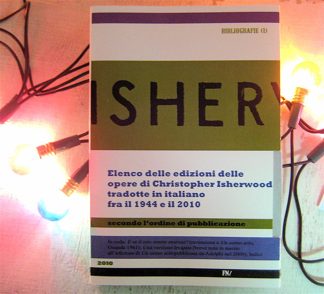 christopher isherwood, bibliografia, FNlibri 2010