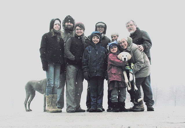 Family Shot Christmas '10 #2