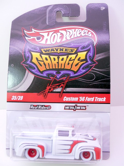 hot wheels waynes garage custom '56 ford truck (1)