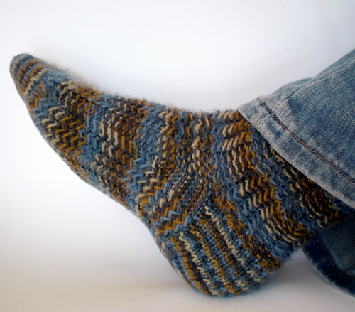 Herringbone Rib Socks