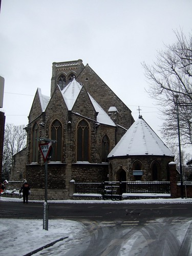 St Faiths Church Covered With Snow