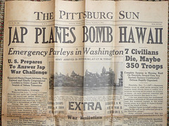 Pittsburg Sun 1941 December 7 Evening - Detail...