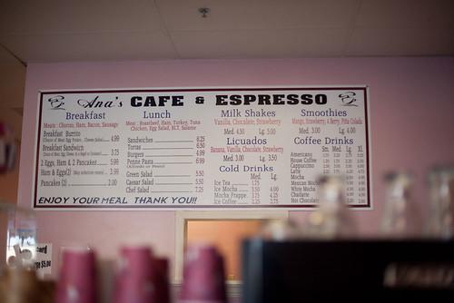 Ana's Cafe & Espresso