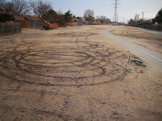 Vandalism on the Greenbelt