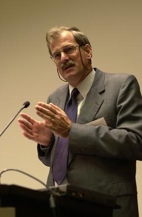 ILRI director general Carlos Sere