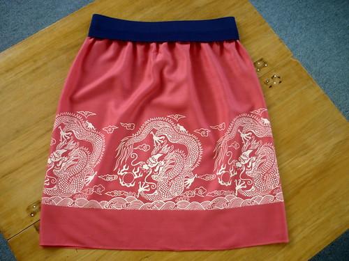 Dragon skirt