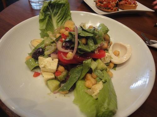 Funky Deli Cafe: Mediterranean salad