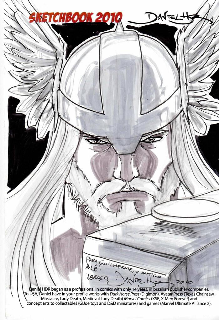 Thor - Sketch II