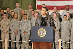 President Obama makes surprise visit to Bagram...