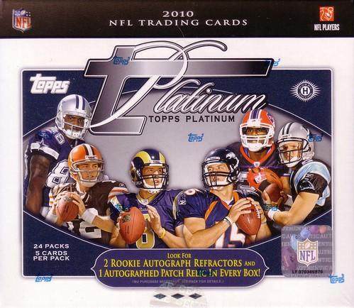 2010 Topps Platinum box