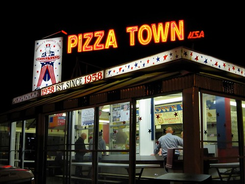 Pizza Town USA Neon