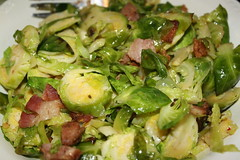 Brussels w/andouille & bacon