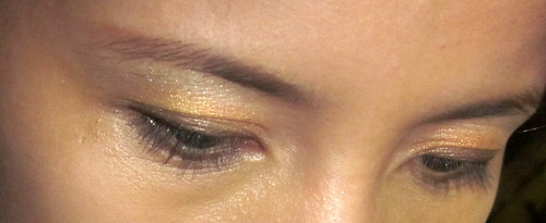 Earthlingorgeous eyes in L'Oreal Paris Chrome Intensity in Magic Amber