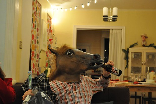 a little known fact that horses enjoy beer