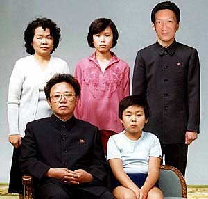 Jonal Chong with the Kim family