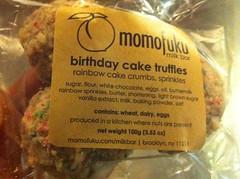 Birthday Cake Truffles - Momofoku Milk Bar