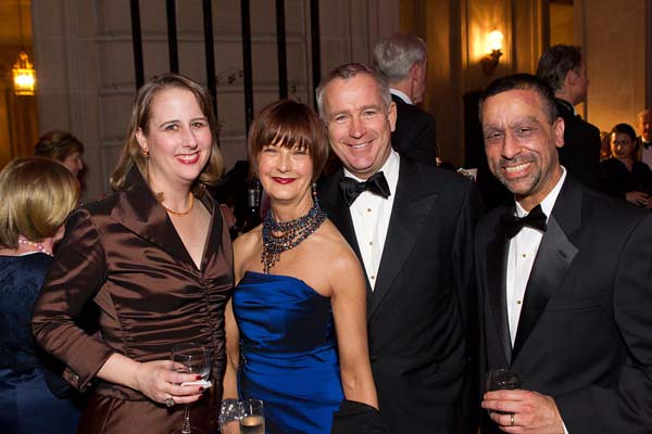 Kim Carim, Debra Bernard (General Manager San Francisco Ballet), Glenn McCoy (Ballet Executive Director), Arshad Carim