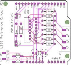 L298 Motor Test V2-laen
