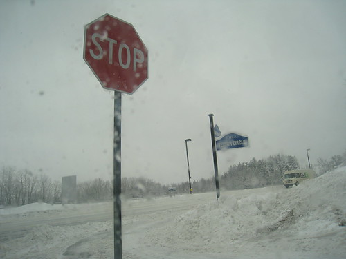 stop snowing!