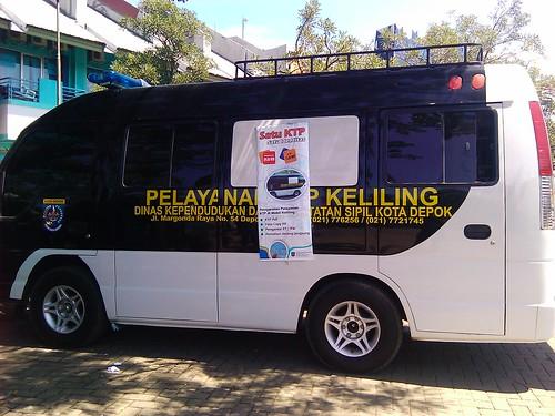 Mobil Pelayanan KTP Keliling