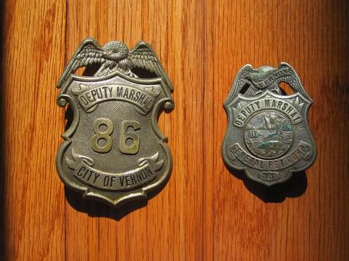 Grandfather's volunteer badges