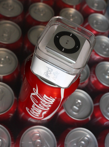 Coca Cola and iPod a winning combination