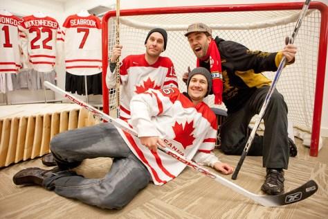 Dave Olson, Chris Walts and Bob Kronbauer - Hockey Day In Canada