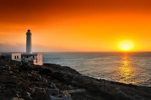 © Stefano Cacciatore: Il faro di Punta Palascia a Otranto