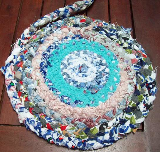 Rag Rug by MadebyMelody