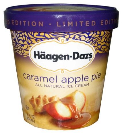 Haagen Dazs Caramel Apple Pie