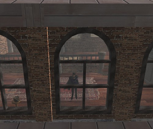 Steampunk Loft Window Shot