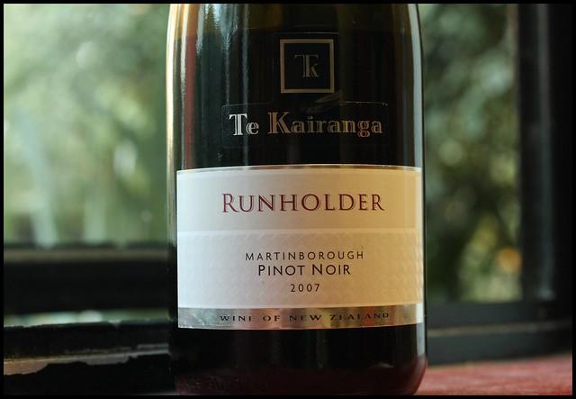 Te Kairanga Runholder Pinot Noir 2007