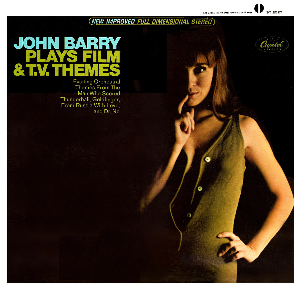 John Barry Plays Film & TV Themes