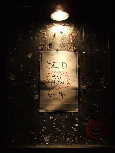 SEED at the garage