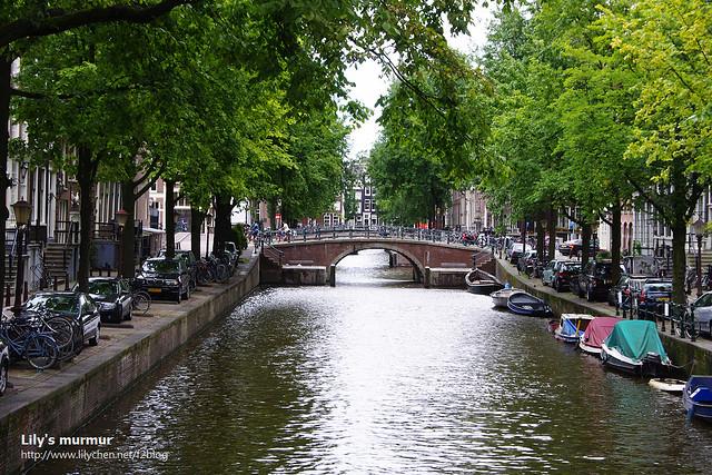 阿姆斯特丹的運河總讓人忍不住駐足流連。