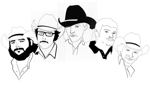 Mike and the Moonpies Illustration