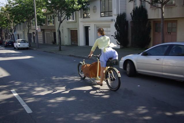 June Cleaver Rides A Metrofiets