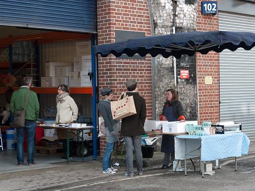 Stalls of 104 Druid Street