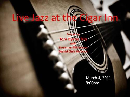 Tom Byrne Trio @ the Cigar Inn[1]
