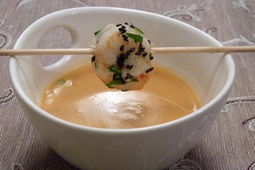 Thailändische Süßkartoffelsuppe I