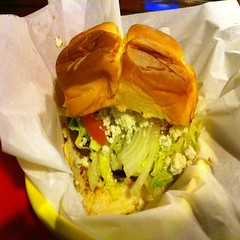Veggie Burger @ Dog Haus
