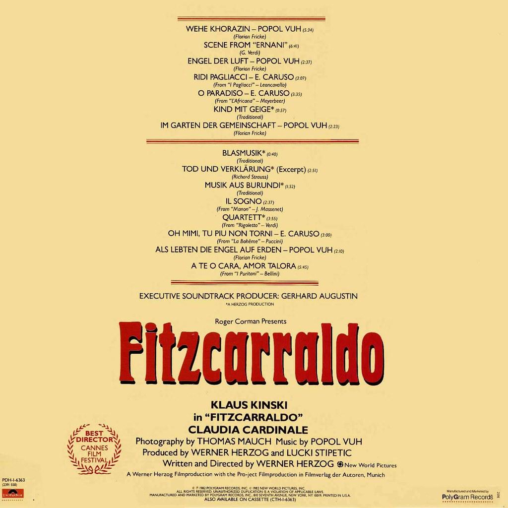 Popol Vuh - Fitzcarraldo