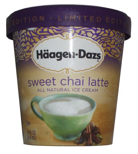 Haagen Dazs Sweet Chai Latte Ice Cream