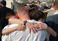 USARAF Soldiers return from Odyssey Dawn, Marc...