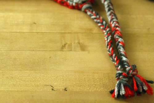 braided tassles